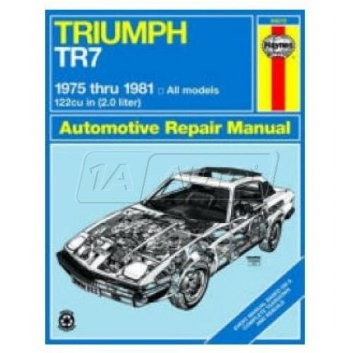 1975-81 Triumph TR7 Haynes Repair Manual