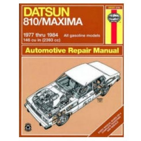 1977-84 Nissan Datsun Maxima 810 Haynes Repair Manual