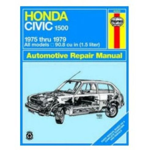 1975-79 Honda Civic 1500 Haynes Repair Manual