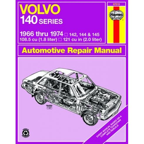 1966-74 Volvo 140 Haynes Repair Manual