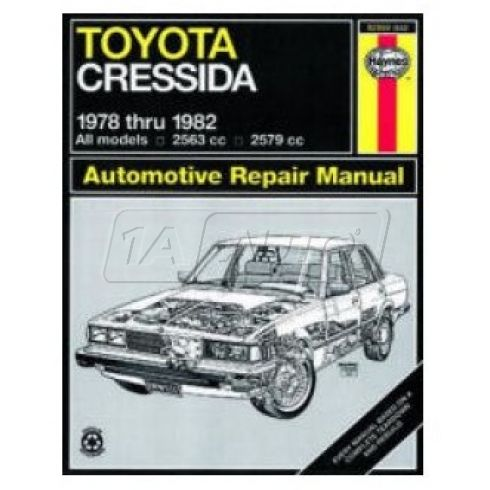 1978-82 Toyota Cressida Haynes Repair Manual
