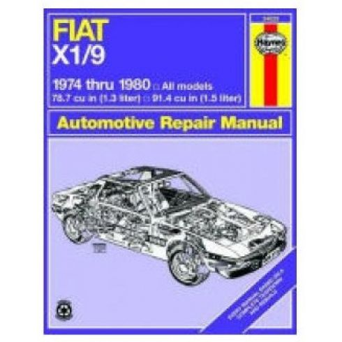 74-80 Fiat X1-9 Haynes Repair Manual