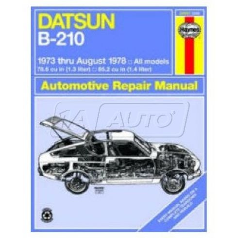 1973-78 Datsun B-210 Haynes Repair Manual