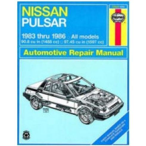 1983-86 Nissan Pulsar Haynes Repair Manual