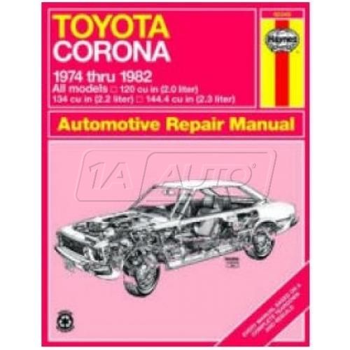 1974-82 Toyota Corona Haynes Repair Manual