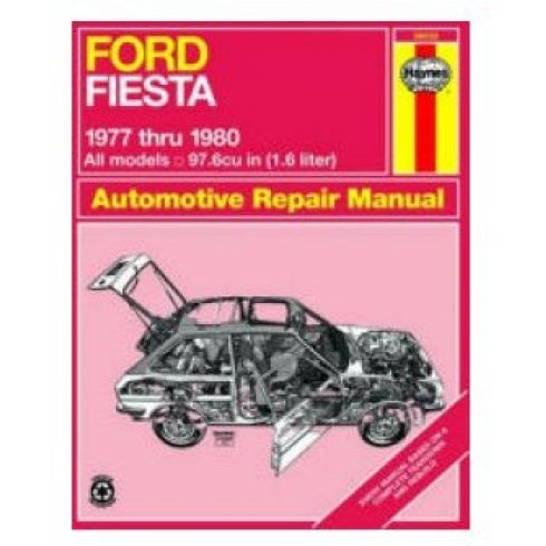 1977-80 Ford Fiesta Haynes Repair Manual
