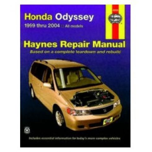 1999-04 Honda Odyssey Haynes Repair Manual