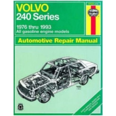1976-93 Volvo 240 Series Haynes Repair Manual