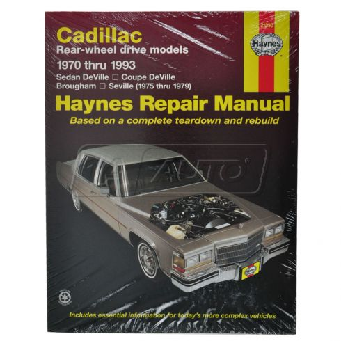 Cadilac Deville Seville Haynes Repair Manual