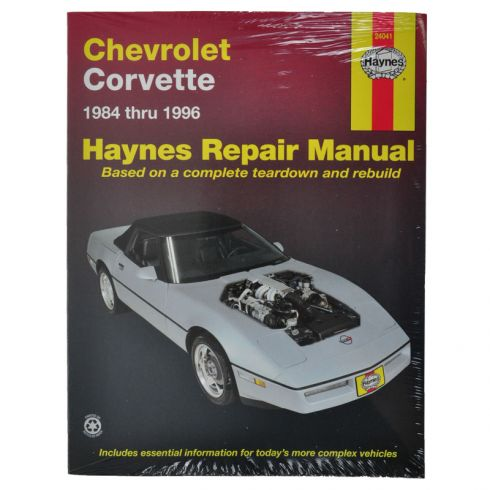 Chevy Corvette Haynes Repair Manual
