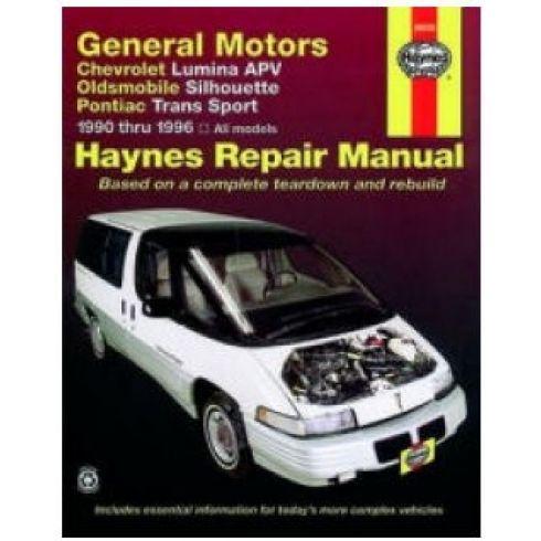 1990-96 Lumina APV Van Silhouette Tran Sport Haynes Repair Manual