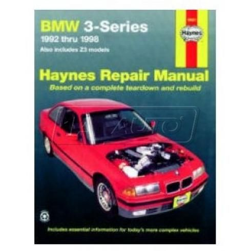 1992-98 BMW 3-Series and Z3 Haynes Repair Manual