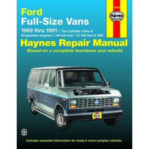 1969-91 Ford Full Size Vans Haynes Repair Manual