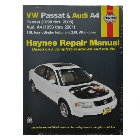 VW Passat and Haynes Repair Manual