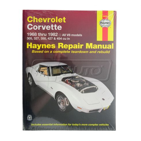 1968-82 Chevy Corvette Haynes Repair Manual