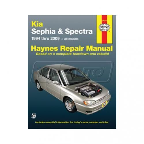1994-04 Kia Sephia and Spectra Haynes Repair Manual