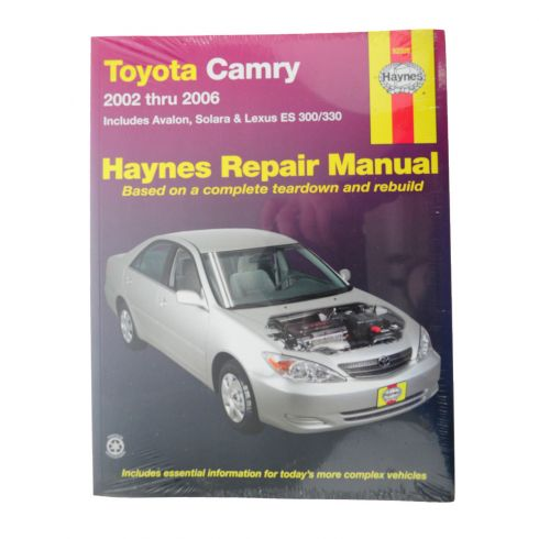 2002-05 Toyota Camry, Avalon, Lexus ES 300/330 Haynes Repair Manual