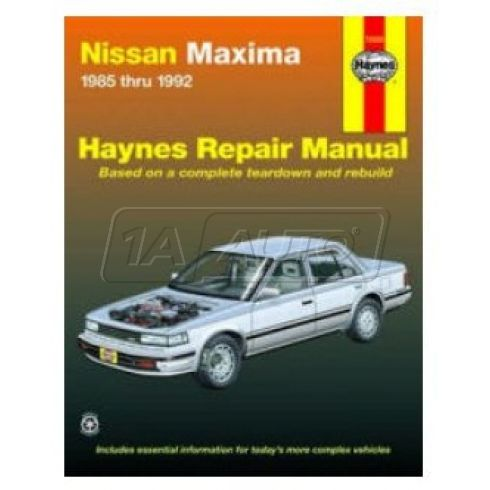 1985-92 Nissan Maxima Haynes Repair Manual