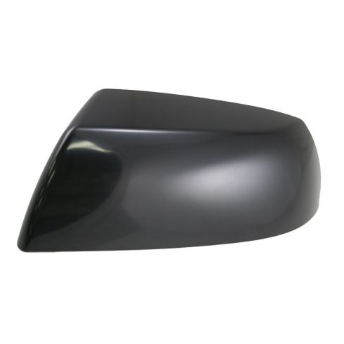 Mirror Cap Smooth Black Driver Side