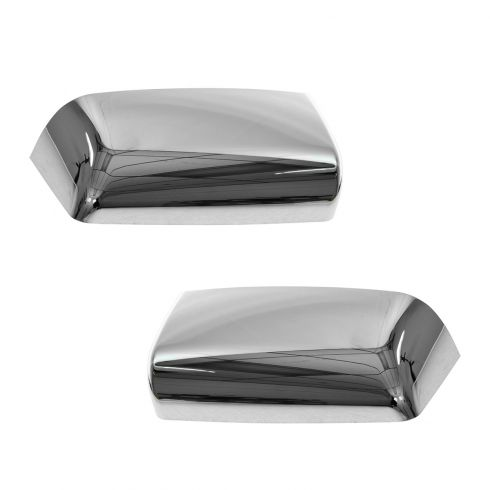 07-12 Ford F150 (w/Tow Mirror) Chrome Mirror Cover Upgrade PAIR (Clip On)
