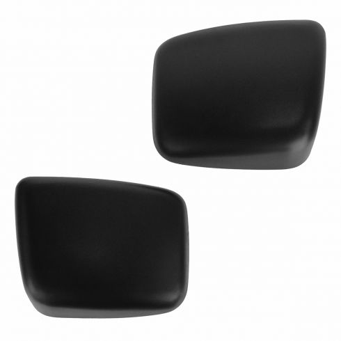 04-14 Nissan Titan (w/Tow Mirror) Textured Black Mirror Cover Upgrade PAIR (Clip On)