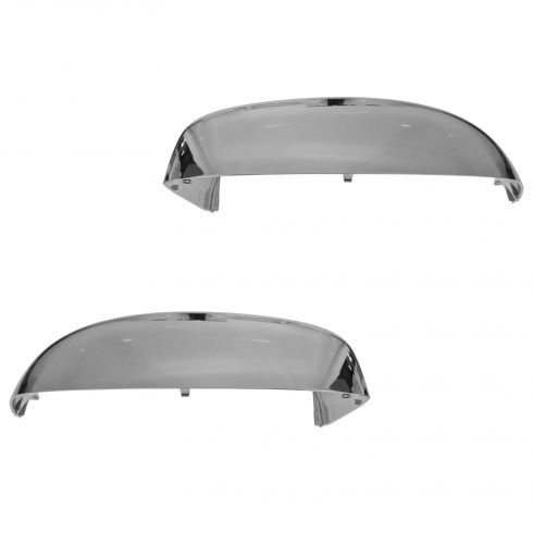 07-14 GM FS SUV; 07 (New Body)-14 Silverado, Sierra Standard Chrome Mirror Cap PAIR (GM)