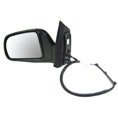 1998-03 Sienna Power Blk Mirror LH