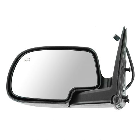 02 Avalanche Power Mirror Heated  Fl Blk LH