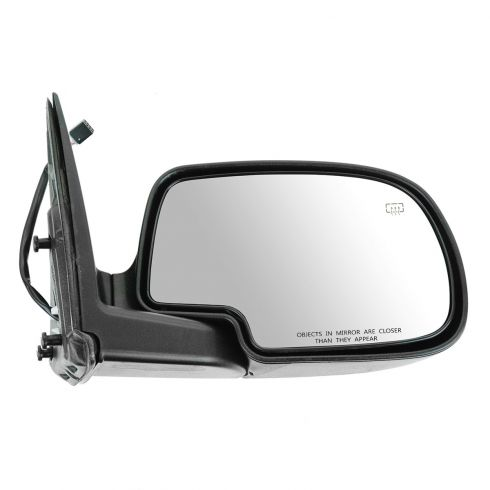02 Avalanche Power Mirror Heated  Fl Blk RH