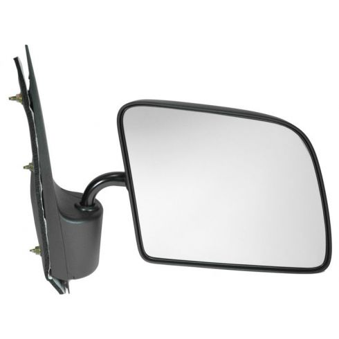 1992-06 Ford Econoline Van Flat Glass Manual Mirror RH