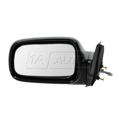 89-91 Civic 3dr Manual Remote Mirror LH