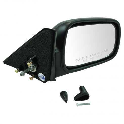 89-91 Civic 3dr Manual Remote Mirror RH