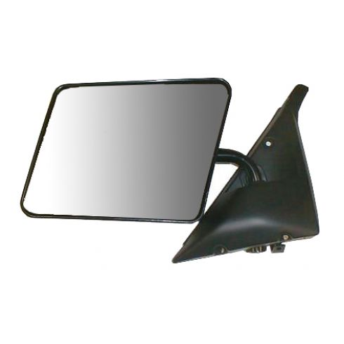 1982-94 Sail Type Black 5 x 8 Manual Mirror LH