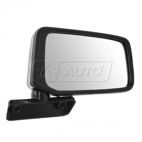 83-86 Nissan PU Truck Manual Mirror Blk RH