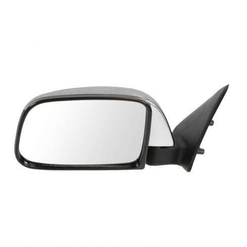 89-95 Toyota PU Manual Mirror Chr LH
