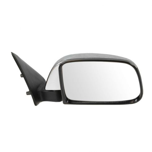 89-95 Toyota PU Manual Mirror Chr RH
