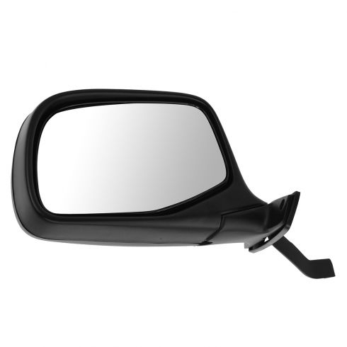 92-96 Bronco PU Manual Mirror Blk LH