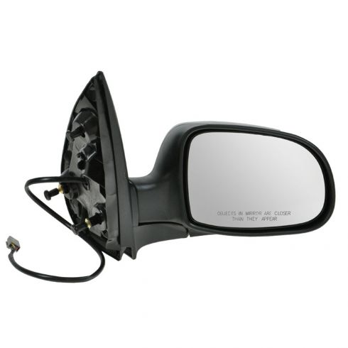 Mirror POWER (Flat Black) Passenger Side