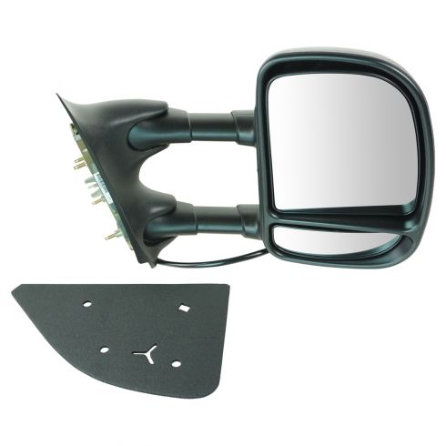 1999-04 Telescopic Ford Super Duty Power Mirror RH
