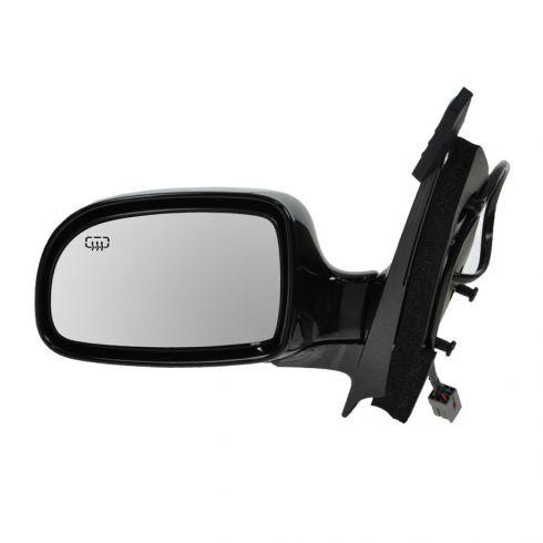 Pwr Htd Fld Mirror Blk No Signal LH