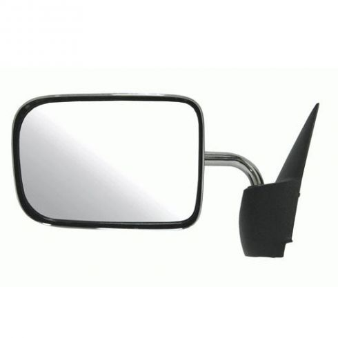 Manual Mirror Chrome LH