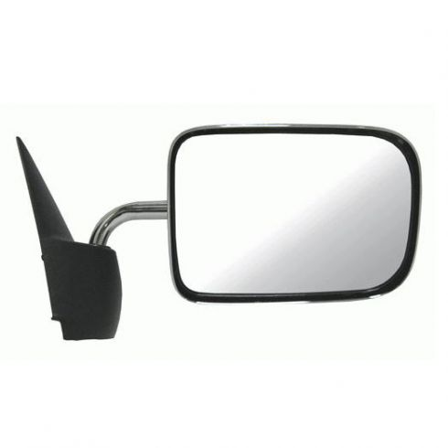 Manual Mirror Chrome RH