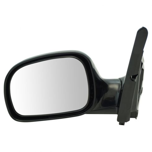 1996-00 Caravan/Voyager Manual Mirror Black LH