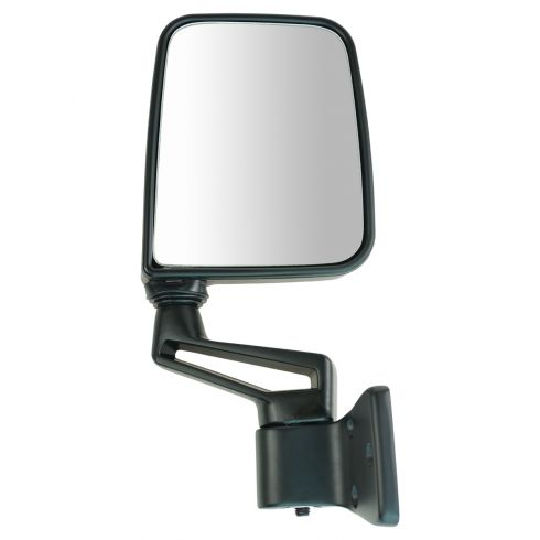 Jeep Manual Black Folding Mirror RH
