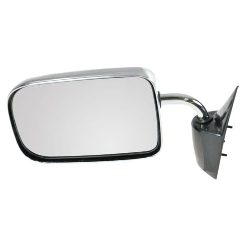 1987-94 Dodge Dakota PU, 6x9, chrome (folding) Manual Mirror LH