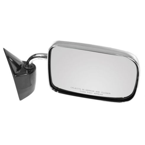 1987-94 Dodge Dakota PU, 6x9, chrome (folding) Manual Mirror RH