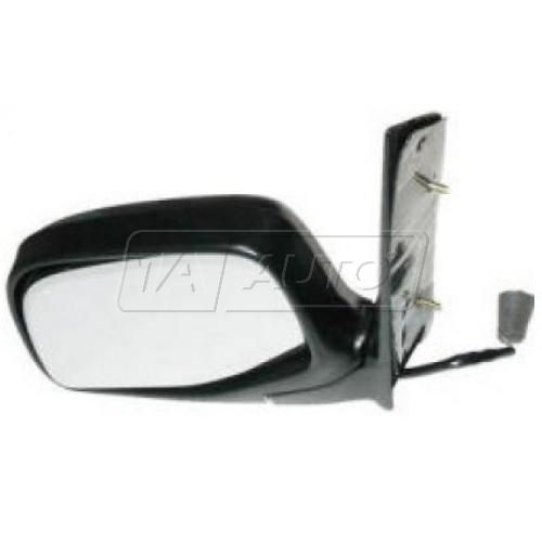 86-97 FORD Aerostar, blk (folding) (door pillar mounted) Paddle Design Pwr Mir LH