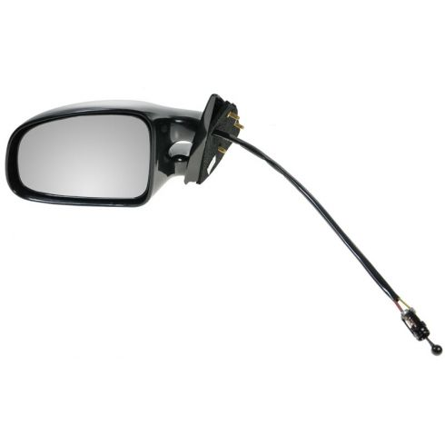 1999-01 PONTIAC Grand Am (SE) Manual Remote Mirror LH black