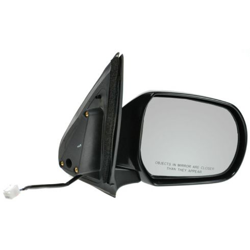 01-06 Mazda Tribute Power Mirror, blk (folding) RH