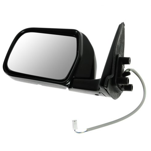 93-98 Toyota T100 Power Black w/Chrome Cap Mirror LH